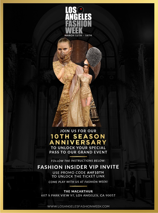 Fashion Insider VIP Invite